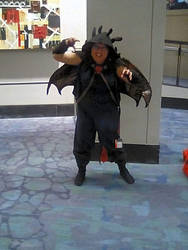 Toothless Dragon at C2E2 Comic con 2 (Rwar!) by Demon-Angel1200