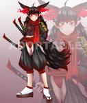 [ CLOSE ] Adoptable Auction: Fox Samurai