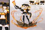 [ CLOSE ] Adopt Auction Flame Dragon Girl