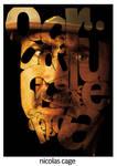 cage tipografik portre by sercanunal