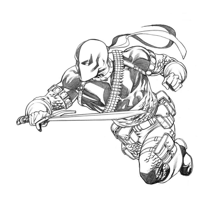 Deathstroke Sketch by ...
