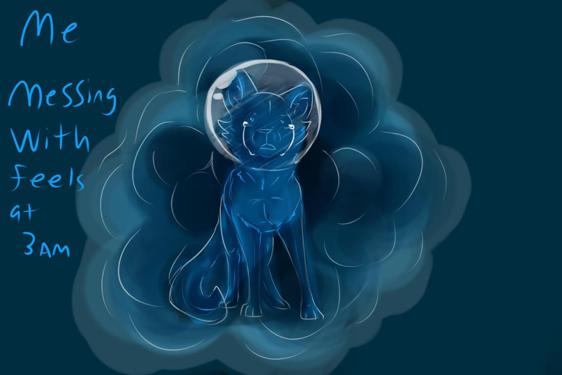 Space Cat  by SasonyaWolf