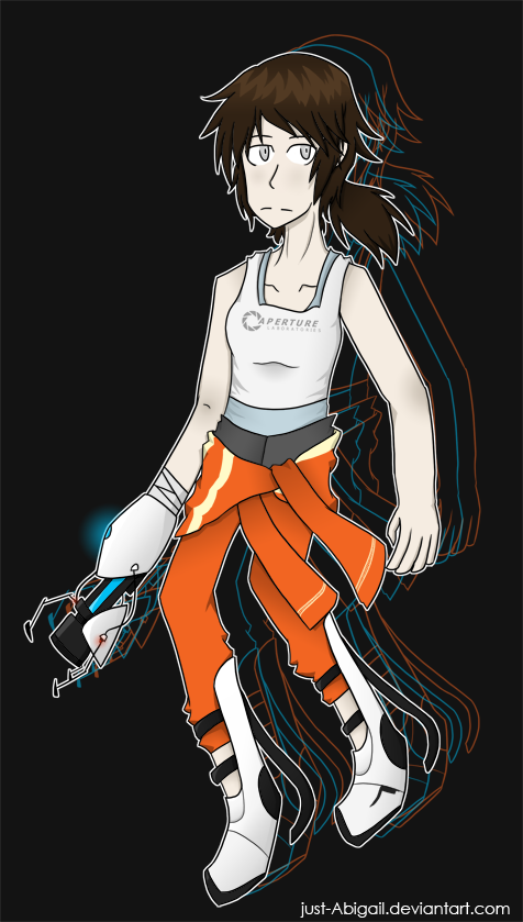 Chell by just-Abigail