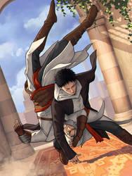 Malik in training by HawkeyeWong