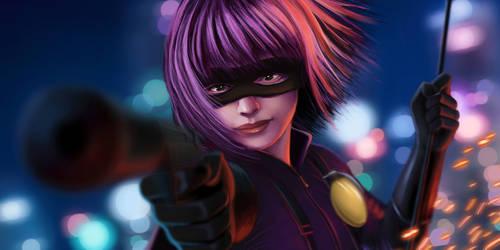 Hitgirl by HawkeyeWong