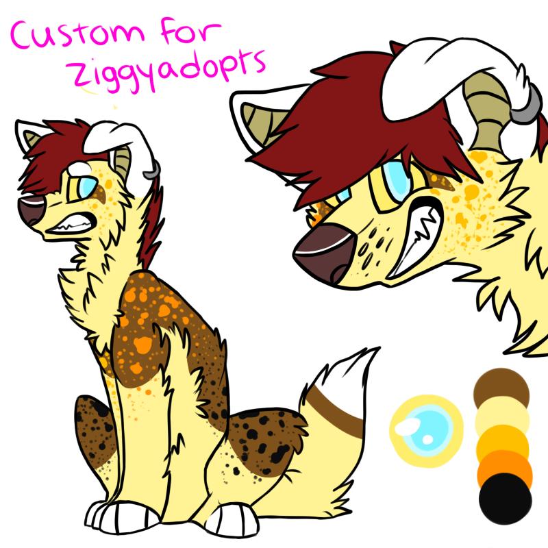 Custom For Ziggyadopts by Aussie-sky
