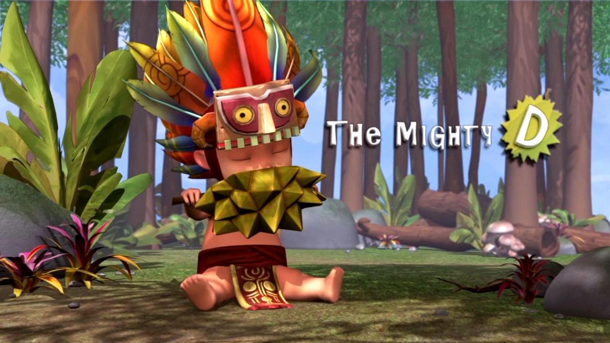 The mighty D by megtrix11
