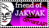 stamp friend of jakwak by jakwak