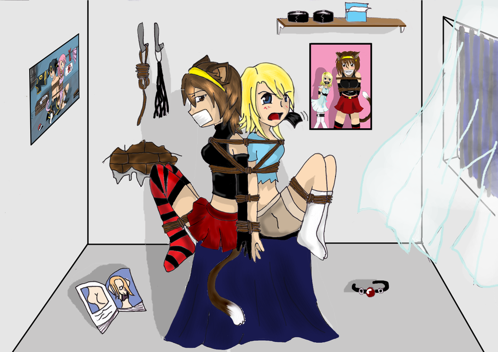 Anime Characters Kidnapped : Natsuko and b girl kidnapped by hiragi on deviantart