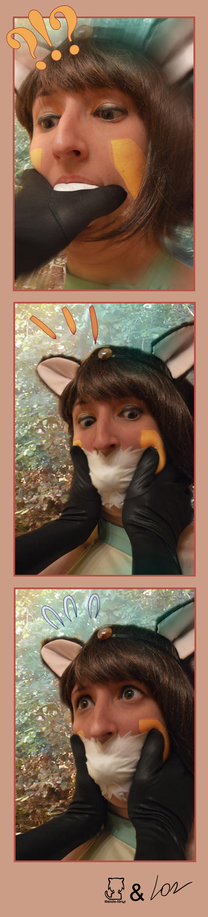 Iuki Spiderwebbed Fantasy Frontier Promoshooting 2 by Natsuko-Hiragi