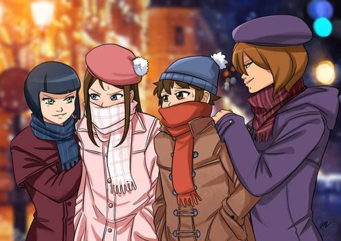 Jester and Kittys Winter Adventure