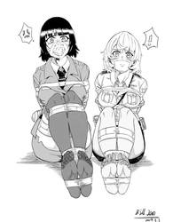 Two Police Girls in trouble! by Natsuko-Hiragi