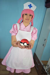 Nurse Joy in trouble! 1