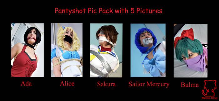 Pantyshot Pic Pack 4