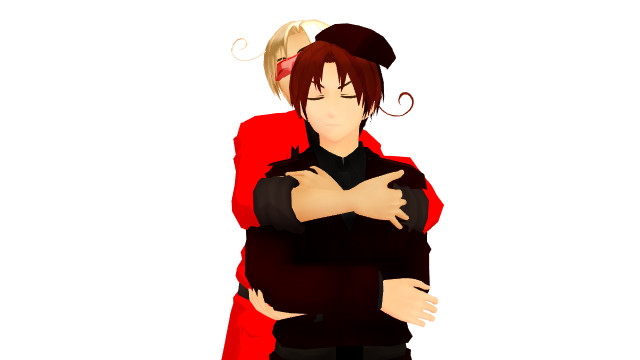 .:aph mmd request:. Hugs! by aph-mmd