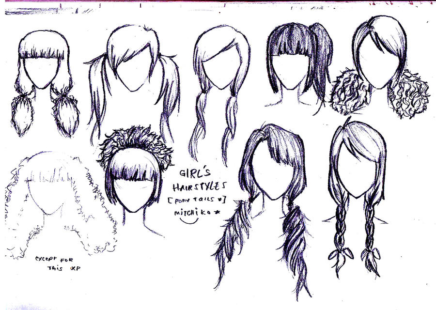 Anime Hairstyles For Girls With Medium Hair