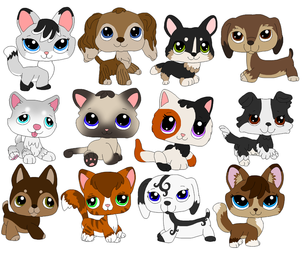 Littlest Pet Shop Fan Designs 1 By MasaiMisfortune On