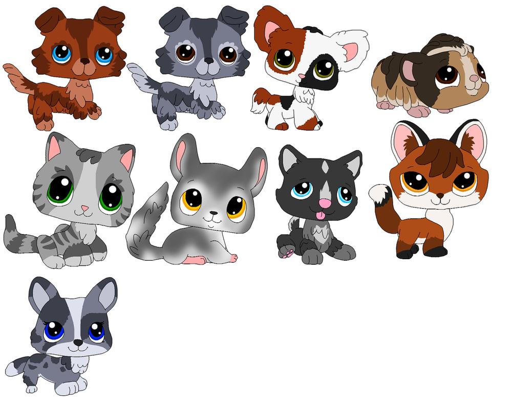 Littlest Pet Shop Fan Designs 2 By MasaiMisfortune On DeviantArt