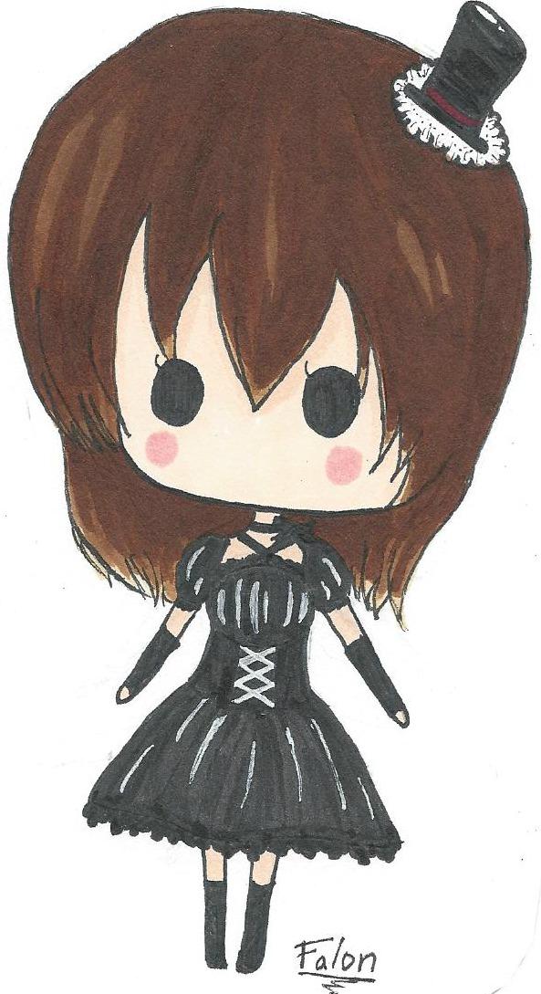 Gothic Lolita by pinkumii