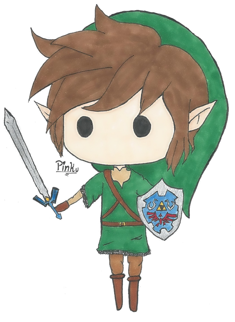 Link Mini Chibi by pinkumii