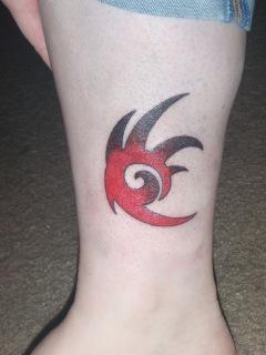Shadow Logo Tattoo by indilee