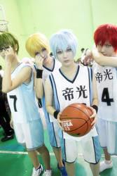 Kuroko no basket by JadeKou