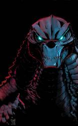 Godzilla by ChristianWillett