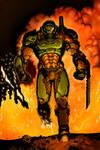 Doom Slayer color