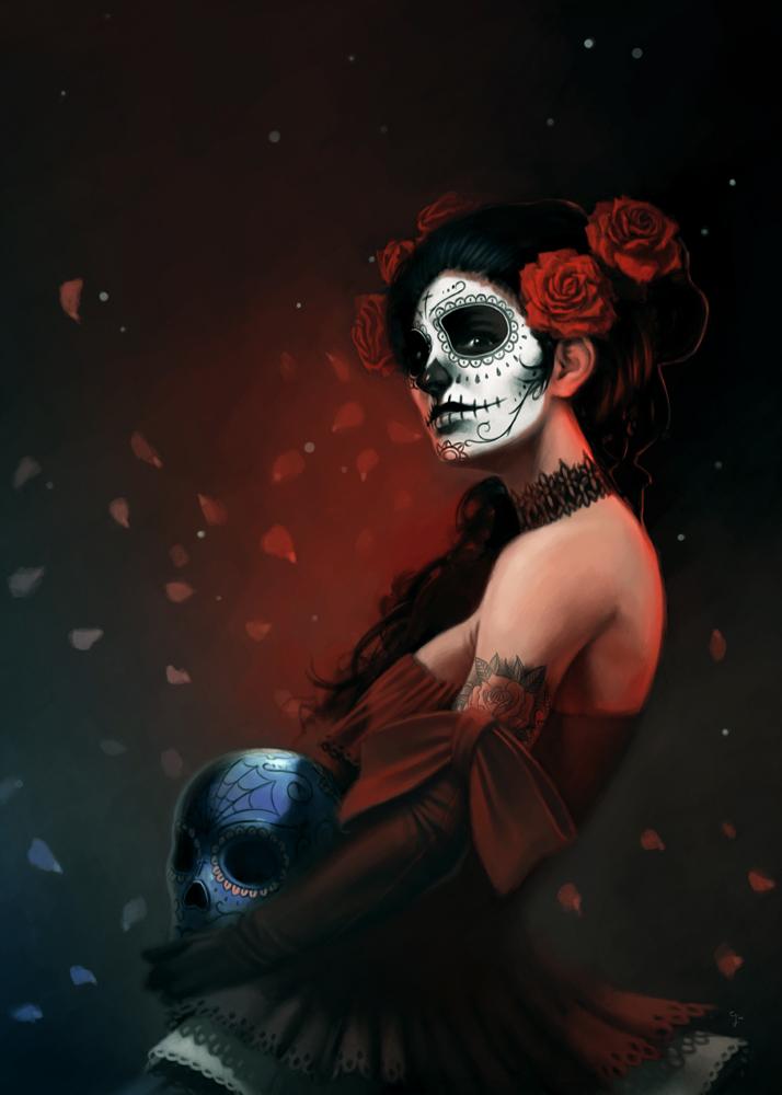 [bank] Les artistes que vous adorez - Page 4 Dia_de_los_muertos_3_by_giorgiobaroni-d64aj9o