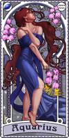 Zodiac Art Show - Aquarius