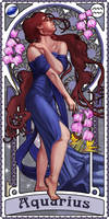 Zodiac Art Show - Aquarius by giorgiobaroni
