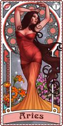 Zodiac Art Show - Aries by giorgiobaroni