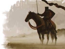 Sketch_Dailies: King Arthur by giorgiobaroni