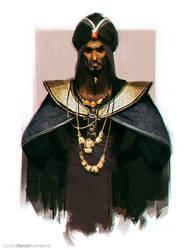 Sketch_Dailies: Jafar by giorgiobaroni