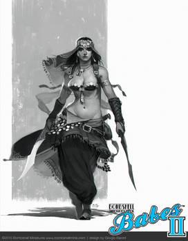 Babes II - Qadira of the Sands