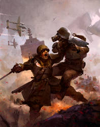 DUST Adventures - Operation Apocalypse by giorgiobaroni