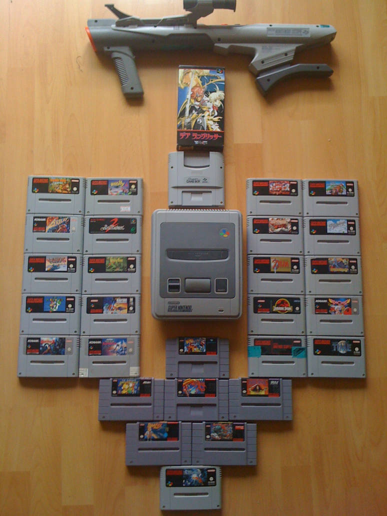 SNES by Lassic