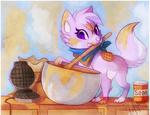 + Making Waffles +