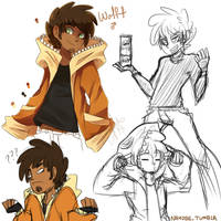 Quick Stuff : Wolff Doodles by Obedaiya