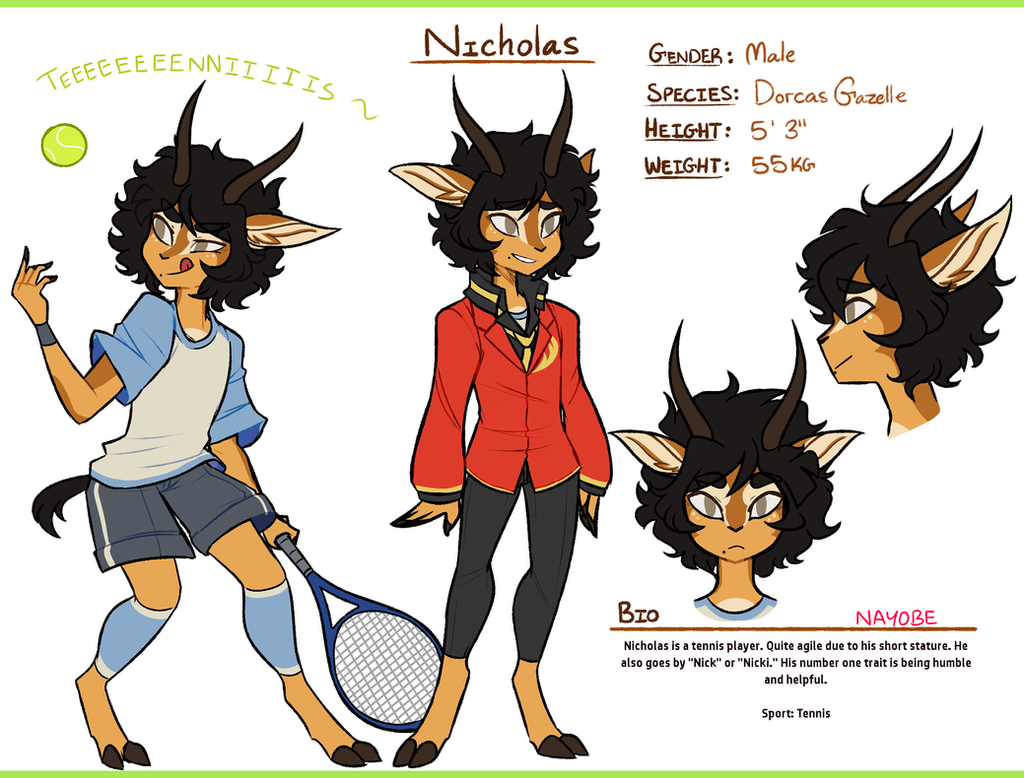 Character Design Competition 2015 : Rd character design contest nicholas by nayobe on