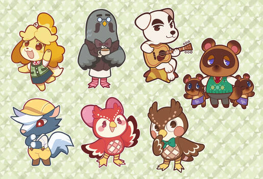 Animal Crossing NPCs Sticker Pack