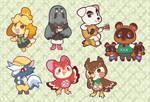 Animal Crossing NPCs Sticker Pack