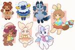 + Summer Furry Adopts 1 + OPEN (3/7)