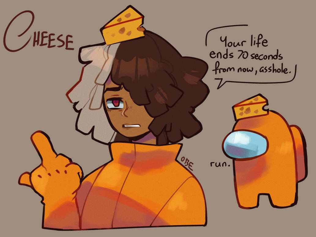 Among Us Cheese By Obedaiya On Deviantart I think the hand sprite o the impostor is unused. among us cheese by obedaiya on