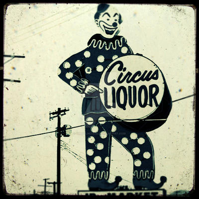 TTV Circus Liqour Clown by VisualIntake