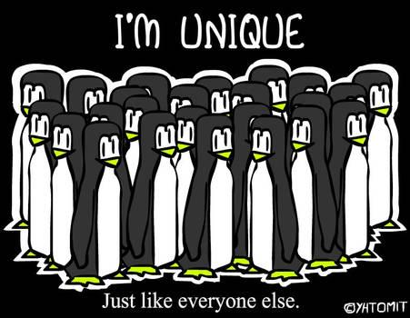 Unique Penguins