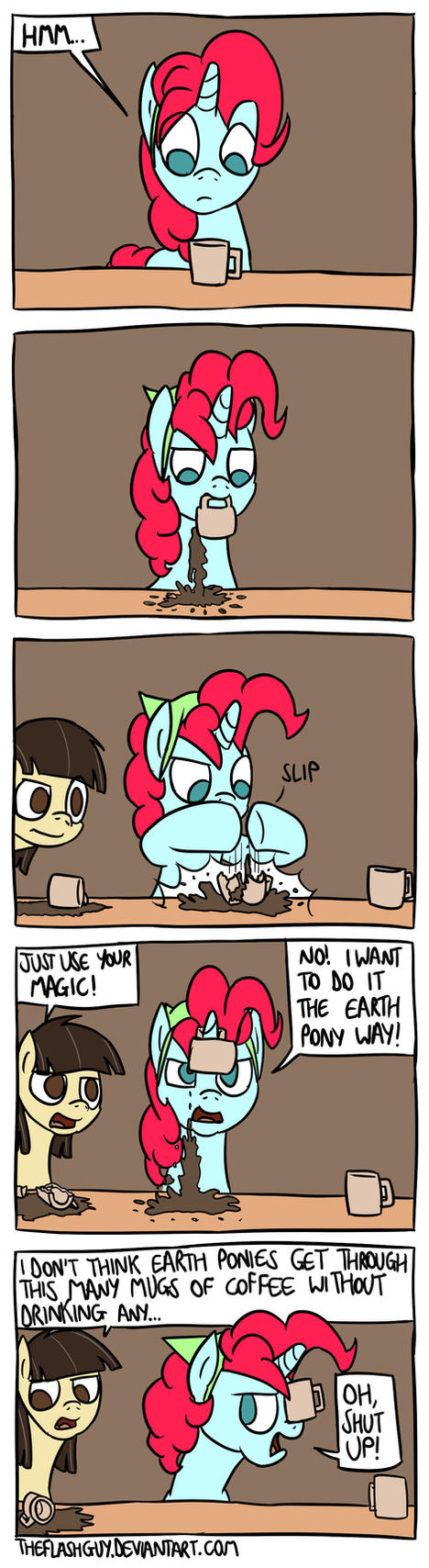 Earth Pony Coffee by timsplosion