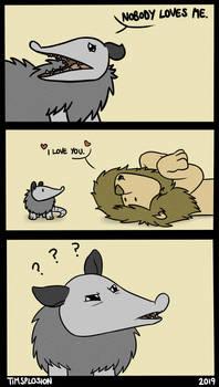 No Love for Possum?