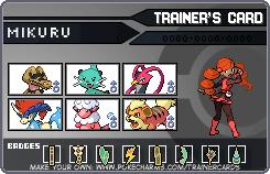 My Pokemon Black 2 Team So Far (updated) by Radiant-Garnet