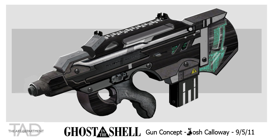 Gun Concept Art By Joshcalloway On Deviantart